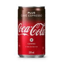 Coca Cola café expresso plus lata 220ml