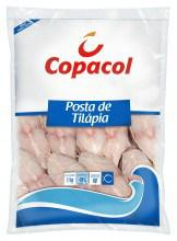 Posta de tilápia congelada Copacol 1kg