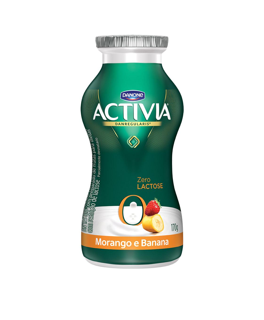 Iogurte zero lactos ameixa Activia 170g