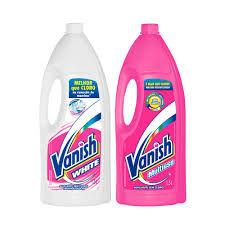 Kit alvejante Vanish branco e rosa 1.5lts