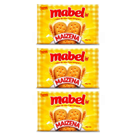 Biscoito maizena Mabel 400g. (pacote c/3 unid.)