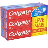Creme dental Colgate máxima proteção anticáries 90g (pacote c/6 unid.)