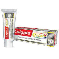Creme dental total 12 professional  reparação diária Colgate 70g