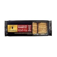 Biscoito salgado de arroz cracker barbecue Tailandês Kalassi 100g