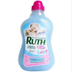 Amaciante de roupas baby care c/ aloe vera Ruth 1lt