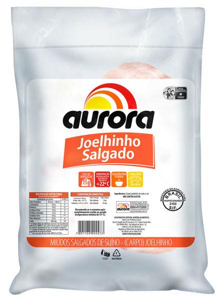Joelho de suíno salgado a vácuo Aurora 500g