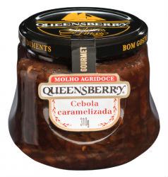 Geléia de cebola caramelizada Queensberry 319g.