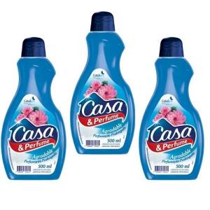 Limpador Casa e Perfume Agradable 500ml.( pacote c/ 3 unidades)