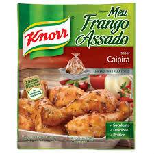 Tempero pronto Knorr Meu frango assado sabor caipira Knorr 25g