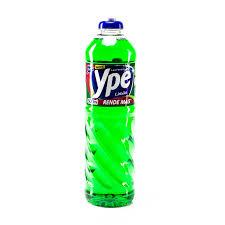 Detergente liquido Capim Limão Ypê 500ml.