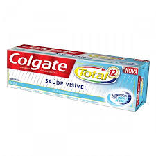 Creme dental Colgate 12 total saúde visível 70g