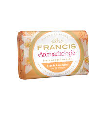Sabonete Francis Aromachologie Flor de laranjeira que dá energia 90g