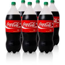 Coca Cola pet 2 litros ( pacote c/ 6 unid.)