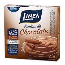 Pudim de chocolate Linea 25g