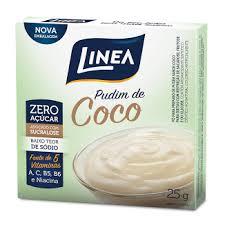 Pudim de coco Linea 25g