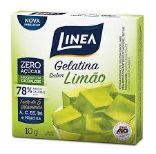 Gelatina de limão Linea 10g