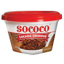 Cocada cremosa queimada Sococo 335g