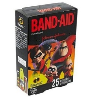 Curativos Band-Aid Os Incríveis 2 Johnson 25x1
