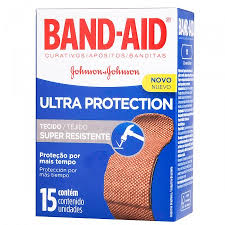 Curativos Band-Aid super resistente Johnson 15x1