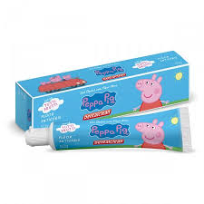 Gel dental flúor ativo Peppa Pig Dentalclean 50g