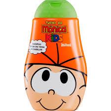 Shampoo Turma da Monica para todos os tipos de cabelos 260ml
