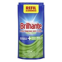 Tira manchas antibacteriano Brilhante Utile Fresh sachê 450ml