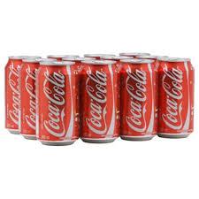 Coca Cola lata 350ml. (pacote c/ 12 unid.)