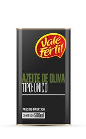 Azeite de Oliva em lata Vale Fértil 500ml