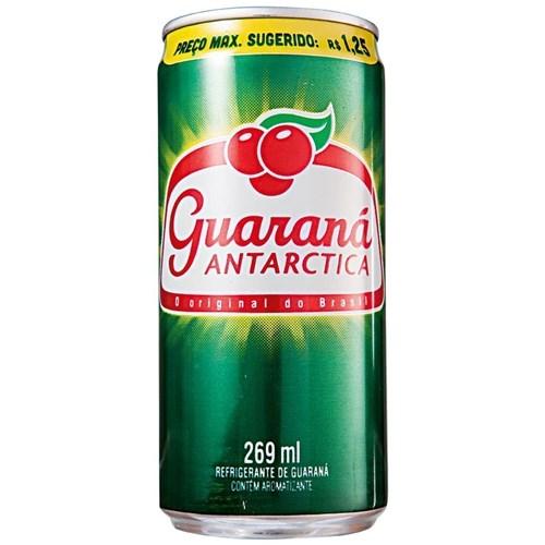 Guaraná Antarctica lata 269ml.