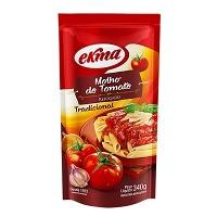 Molho de tomate  tradicional Ekma 340g
