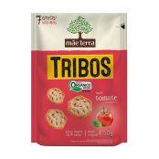 Biscoito salgado Orgânico integral tomate seco e manjericão TrIbos Mãe Terra 25g