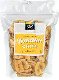 Banana chips 50g
