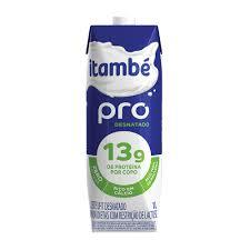 Leite desnatado 13g de proteína Itambé 1lt