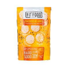 Crackers de arroz pimenta do reino Fit Food 75g