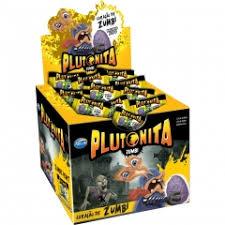 Chiclete Plutonita zumbis caixa com 40 unidades