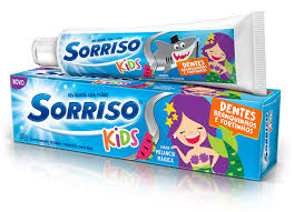 Creme dental Kids Sorriso 50g
