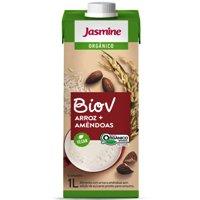 Bebida vegetal orgânica de arroz com amêndoas Jasmine 1lt