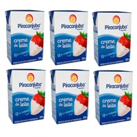 Creme de leite Piracanjuba 200ml. (pacote c/ 6 unidades)