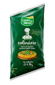 Requeijão culinário tradicional Canto de Minas 1,8kg