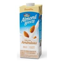 Bebida vegetal com amêndoas zero açucar sabor baunilha Almond Breeze 250ml