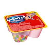 Iogurte parcialmente desnatado Chamyto morango com confeitos de cereal 130g