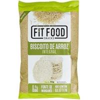Biscoito de arroz natural Fit Food 30g