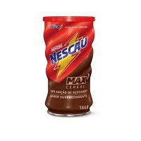 Achocolatado sem adição de açucar Nescau Max cereal Nestlé 165g.