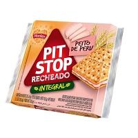 Biscoito integral Pit Stop recheado de peito de peru Marilan 105,6g