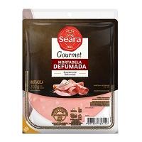 Mortadela defumada fatiada Gourmet Seara 200g