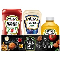 Kit de molhos Heinz ketchup + maionese + mostarda Heinz
