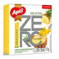 Gelatina Apti zero açucar abacaxi 12g