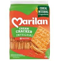 Biscoito cream cracker integral Marilan 420g