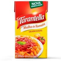 Molho de tomate tradicional Tarantella tetra pak 1,06 kg