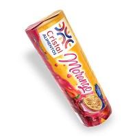 Biscoito recheado morango Cristal 112g